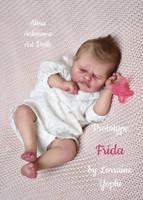 Frida Reborn Vinyl Doll Kit by Lorraine Yophi