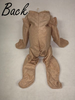 "Cuddle Me Baby Whole Doe Suede Body for 20"" Reborn Dolls #1302GF"