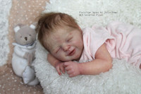 Agnes Reborn Vinyl Doll Kit by Julia Homa