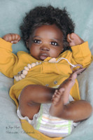 DeShawn Reborn Vinyl Doll Kit by Jorja Pigott