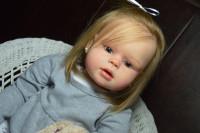 Peggy Reborn Vinyl Doll Kit by Regina Swialkowski