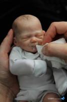 Zane Mini Reborn Vinyl Doll Kit by Marita Winters