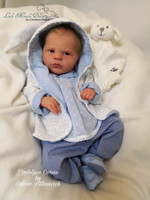 Corvin Reborn Vinyl Doll Kit by Sabine Altenkirch