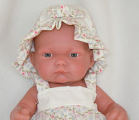 Antonio Juan Baby Girl Doll Pitu Expositor 10 Inch Doll Made in Spain AJ4048