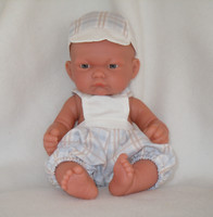 Antonio Juan Baby Boy Doll Pitu Expositor 10 Inch Doll Made in Spain AJ4049