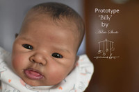 Billy Reborn Vinyl Doll Head by Adrie Stoete  Mix & Match - HEAD ONLY
