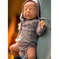 Calimero by Ina Volprich Silicone Full Body Doll Kit Unpainted