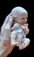 Shasta Tiny Micro-Preemie Fantasy Reborn Vinyl Fairy Doll Kit by Marita Winters