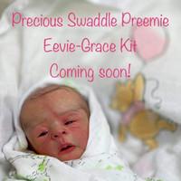 Eevie-Grace Vinyl Reborn Doll Kit by Ruth Annette