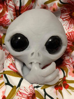 Alet the Alien Baby by Joanne Elise Silicone Full Body Doll Kit Unpainted
