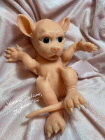 Luna the Werecub Baby by Joanne Elise Silicone Full Body Doll Kit Unpainted