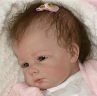Hanna Reborn Vinyl Doll Kit by Elly Knoops