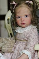 Lilly Reborn Vinyl Toddler Doll Kit by Conny Burke