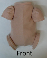 """Doe Suede Body for 12"""" Dolls 3/4 Jointed Arms Full Jointed Legs #507"""