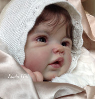 Adeline Reborn Vinyl Doll Kit by Ping Lau