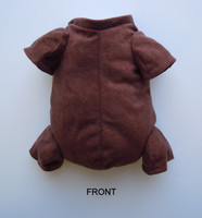 """German Doe Suede Body for 10-11"""" Dolls 3/4 Jointed Arms 3/4 Jointed Legs #1222GE"""