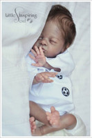 Poppy Reborn Vinyl Doll Kit by Bonnie Brown