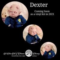 Dexter Vampire/Demon Reborn Vinyl Doll Kit by Jade Warner