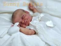 Sunny Delite Reborn Vinyl Doll Kit by Marita Winters