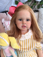 Cressida  Reborn Vinyl Toddler Doll Kit by Ping Lau