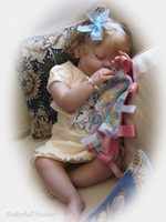 Arianna Asleep Reborn Vinyl Toddler Doll Head by Reva Schick - Head Only