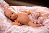 Paulina by Angela Degner Silicone Full Body Doll Kit Unpainted