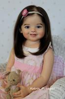 Daphne  Reborn Vinyl Toddler Doll Kit by Ping Lau