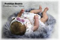 Beatriz  Reborn Vinyl Doll Kit by Ligia Vittore
