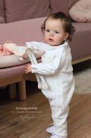 Sandie Reborn Toddler Vinyl Doll Kit by Joanna Kazmierczak