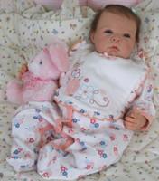 Saskia Reborn Vinyl Doll Kit by Adrie Stoete