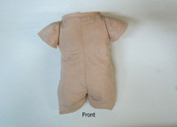 """Doe Suede Body for 26"""" Dolls 3/4 Jointed Arms Full Straight Unjointed Legs #512STGF"""