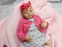 Katie Reborn Finished Baby Girl Collectors Doll sculpted by Toby Morgan