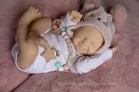 Cora Mae  Reborn Vinyl Doll Kit by Lisa Stone