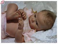 Sabrina Reborn Vinyl Doll Kit by Reva Schick