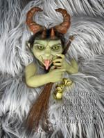 Krampus Fantasy Mythical Kreature Reborn Vinyl Doll kit sculpted by Joe Bailey