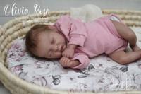 Olivia Rose Reborn Vinyl Doll Kit by Monica Kaye