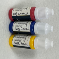 Ultimate Fusion 3 Piece Set of Primary Colors Full sized 12ml Bottles (.4 ounce)