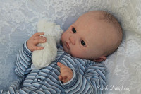 Birdy Reborn Vinyl Doll Kit by Sandy Faber