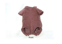 """Doe Suede Ethnic Body for 17-18"""" Dolls 7/8 Jointed Arms, Full Unjointed Legs #505SE"""
