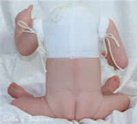 Boy Half Torso Reborn Vinyl Doll Kit By Sheila Michael