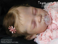 Tegan Reborn Vinyl Doll Kit by Laura Lee Eagles