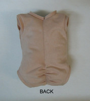 """Doe Suede Body for 17-18"""" Dolls Full Unjointed Arms Full Unjointed Side-Loading Legs #1494"""