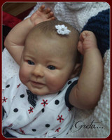Greta Reborn Vinyl Doll Kit by Andrea Arcello