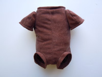 "Doe Suede Ethnic Body for 19-21"" Dolls 3/4 Jointed Arms Full Front Legs #1625E"