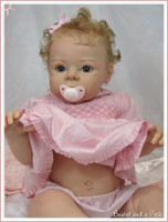 """Tummy Plate For 26-28"""" Doll Kits by Adrie Stoete"""