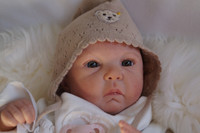 Jayla Reborn Vinyl Doll Kit by Menna Hartog