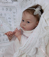 Princess Charlotte at Age 1 with Bent Legs Doll Kit by Tomas Dyprat