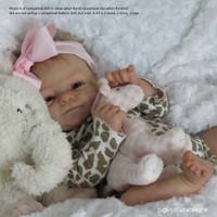 Coco-Malu Reborn Vinyl Doll Kit by Elisa Marx