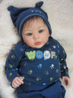 Lil Champ Reborn Vinyl Doll Kit by Laura Tuzio Ross