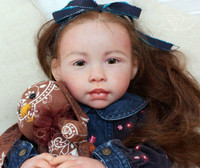 Chenoa Reborn Vinyl Doll Kit by Jannie De Lange